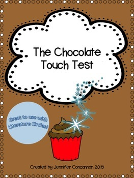 The Chocolate Touch Book Test