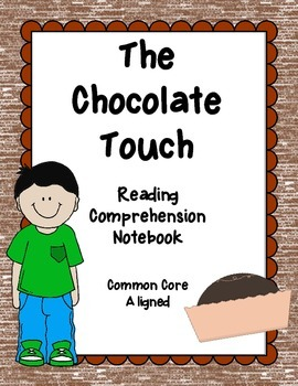 The Chocolate Touch Close Reading Comprehension Packet - CC Aligned