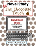 The Chocolate Touch Digital Distance Learning Novel Study
