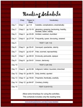 The Chocolate Touch: Literature Study (Test, Vocabulary, Activities, Printables)