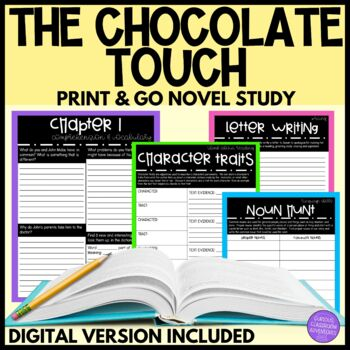 The Chocolate Touch Novel Study