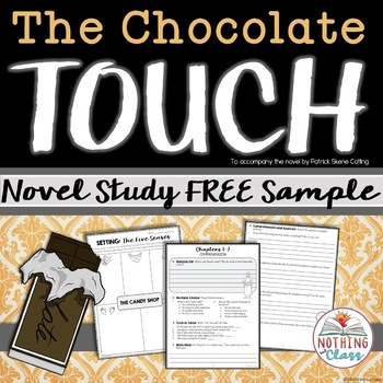 The Chocolate Touch Novel Study FREE Sample