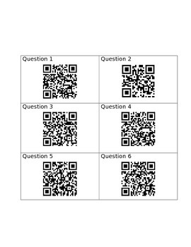 The Chocolate Touch QR code activity
