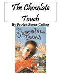 The Chocolate Touch Reading Response Novel Journal