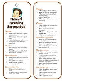 The Chocolate Touch Reading Strategies