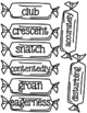 The Chocolate Touch Vocabulary
