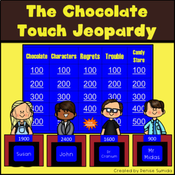 The Chocolate Touch by Patrick Skene Catling Jeopardy