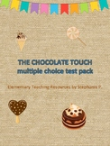 The Chocolate Touch multiple choice quiz pack