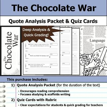 The Chocolate War Unit Bundle