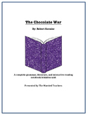 The Chocolate War Complete Literature, Grammar, & Interactive Foldables Unit