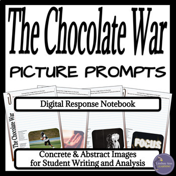 The Chocolate War Digital Writer's Notebook for Middle School Students