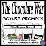 The Chocolate War Digital Interactive Notebook Writing Prompts for Google Drive