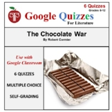 The Chocolate War Google Forms Quizzes For Google Classroom