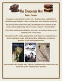 The Chocolate War Modified for Younger Audience Text, Q's, Answer Key