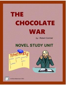 THE CHOCOLATE WAR  Novel Study