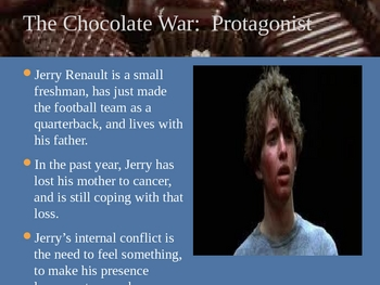 The Chocolate War Powerpoint--Introduction