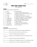 The Chocolate War: Quiz on Chapters 1-24