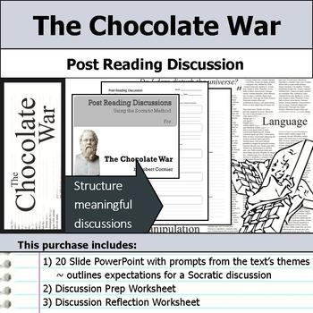 The Chocolate War - Socratic Method - Post Reading Discussions