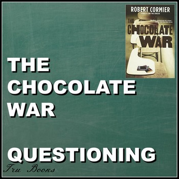 The Chocolate War Text-dependent Questions