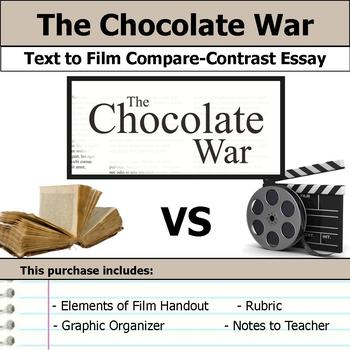 The Chocolate War - Text to Film Essay Bundle