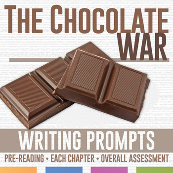 The Chocolate War: Writing and Journaling Pages