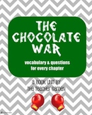 The Chocolate War (by Robert Cormier) vocabulary and questions
