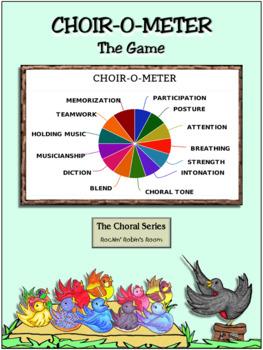 The Choir-O-Meter - A Chorus Motivation Game
