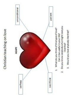 The Christian Concept of Love (Agape) Word Search