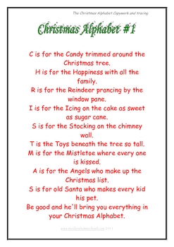 The Christmas Alphabet Song