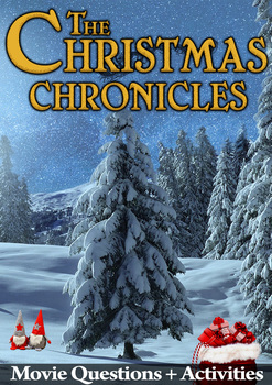 The Christmas Chronicles Movie Guide Activities Color B W
