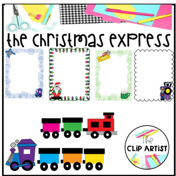 Christmas Express Clipart