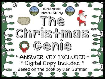 The Christmas Genie (Dan Gutman) Novel Study / Reading Comprehension