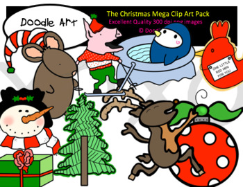 The Christmas Mega Clipart Pack