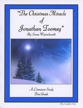 """""""The Christmas Miracle of Jonathan Toomey""""  Literature Study"""