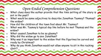 The Christmas Miracle of Jonathan Toomey Mini Unit