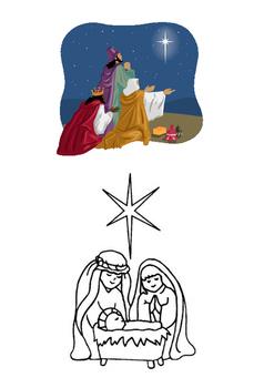 The Christmas Nativity Cloze Activity