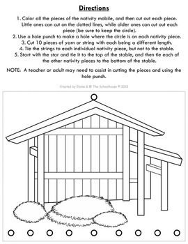 The Christmas Nativity Mobile