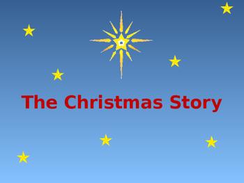 The Christmas Nativity story Powerpoint presentation Grades 1 2 3