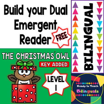 The Christmas´ Owl - Build your Dual Emergent Reader - Free