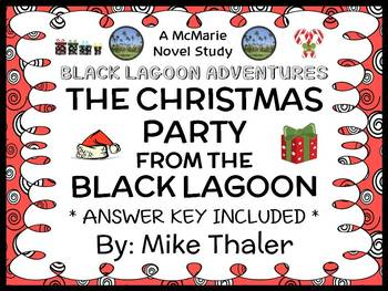 The Christmas Party from the Black Lagoon (Thaler) Novel Study / Comprehension