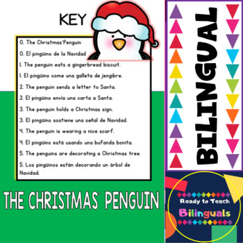 The Christmas´ Penguin - Build your Dual Emergent Reader