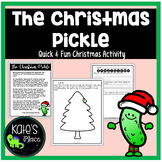 The Christmas Pickle Activity