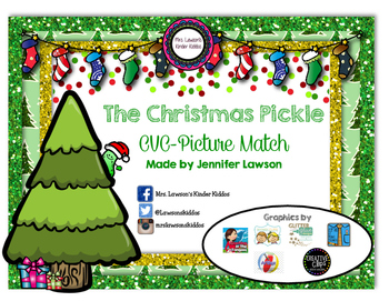 The Christmas Pickle CVC-Picture Math
