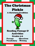 Christmas Reading Comprehension Passage -The Christmas Pickle