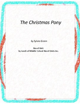 The Christmas Pony Literature and Grammar Unit