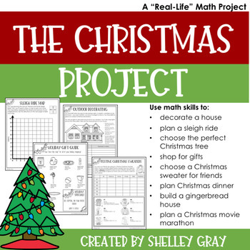 The Christmas Project.The Christmas Project A Real Life Christmas Math Project For December