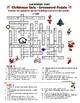 Christmas Quiz - Crossword Puzzle (Question Words, Definitions)