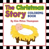 The Christmas Story Coloring Book with Dot-to-Dot Pages