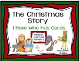 The Christmas Story: I Have Who Has Cards