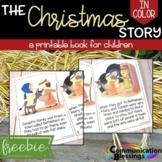 Bible Story: Christmas Printable Book (Color Version)
